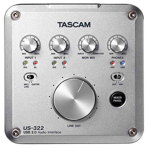 Tascam US-322 2x2 USB Audio Interface
