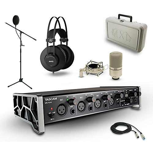 Tascam US-4X4, K52 and 990 Package