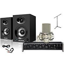 Tascam US-4x4 MXL 990 Elevate 3 Package