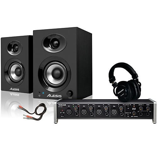 tascam us 4x4 th 200x headphone package musician 39 s friend. Black Bedroom Furniture Sets. Home Design Ideas