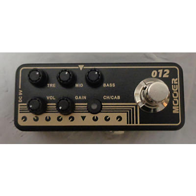 Mooer US GOLD MICRO PREAMP PEDAL Guitar Preamp