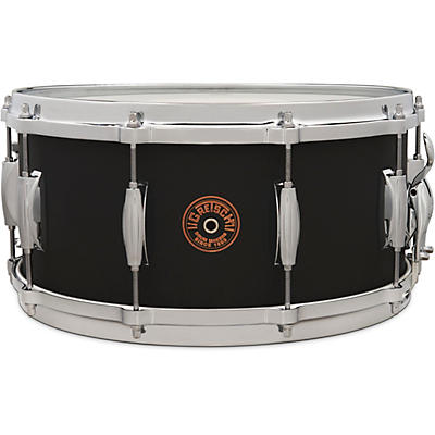 Gretsch Drums USA Custom Black Copper Snare Drum