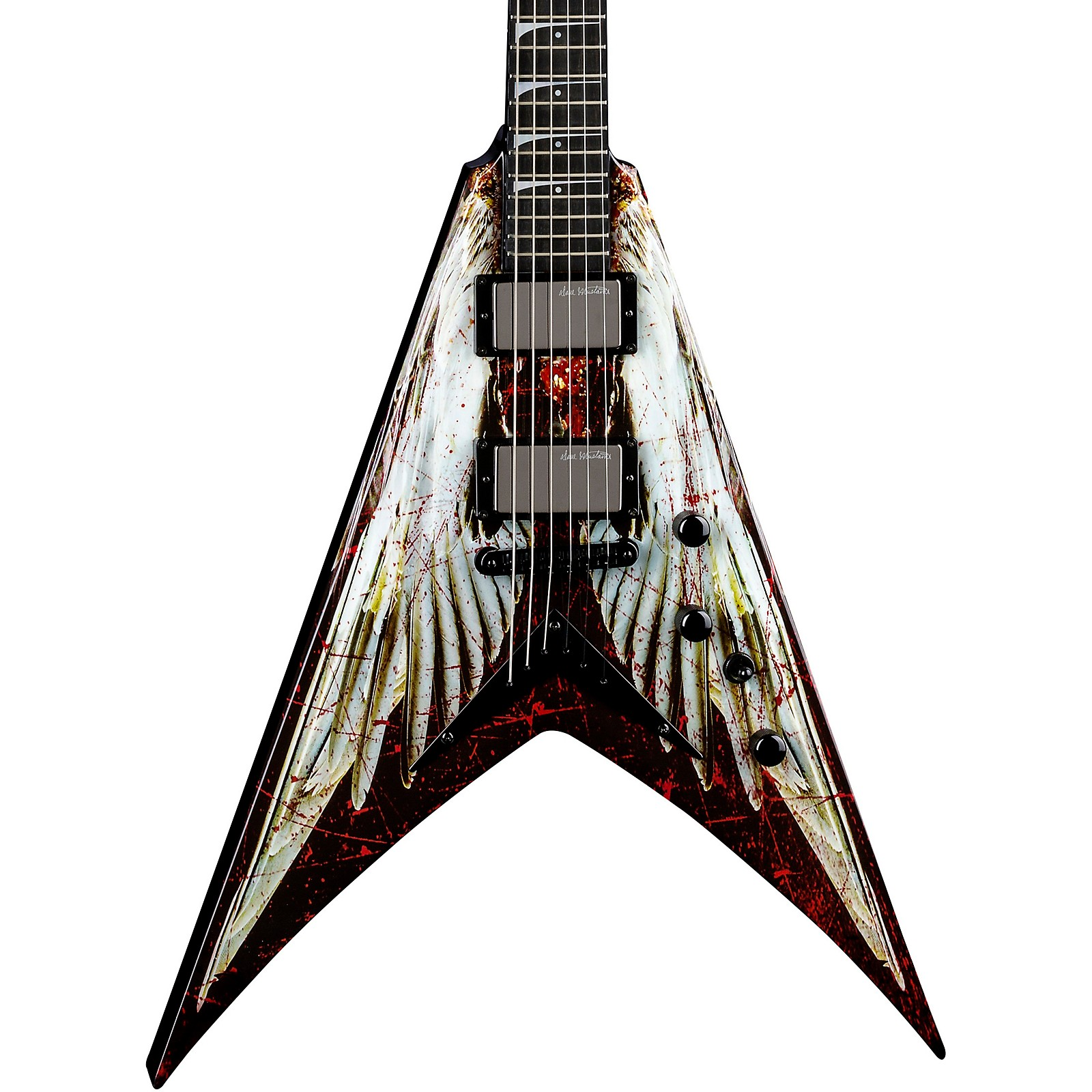Dean USA Dave Mustaine V Angel of Deth Electric Guitar