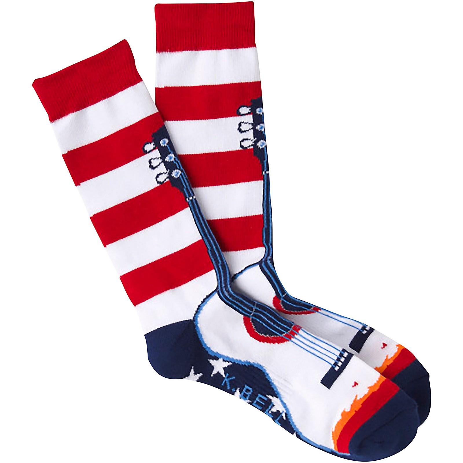 K. Bell USA Guitar Socks