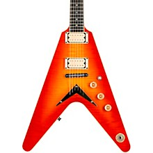 Dean USA Patents Pending V Flame-Top Electric Guitar