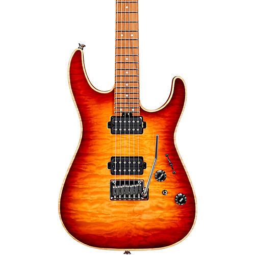 Charvel USA Select DK24 HH 2PT CM QM Autumn Glow
