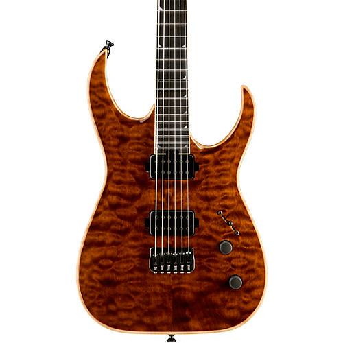 open box jackson usa signature model misha mansoor juggernaut ht6 electric guitar amber tiger. Black Bedroom Furniture Sets. Home Design Ideas