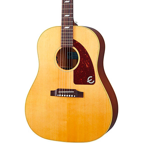Epiphone USA Texan Hollowbody Acoustic-Electric Guitar Antique Natural