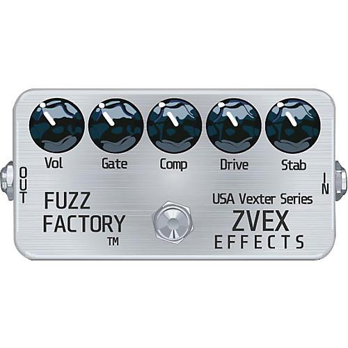 ZVex USA Vexter Fuzz Factory Guitar Effect Pedal