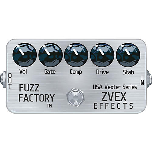 zvex usa vexter fuzz factory guitar effects pedal musician 39 s friend. Black Bedroom Furniture Sets. Home Design Ideas