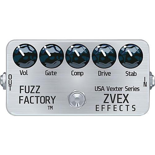 ZVex USA Vexter Fuzz Factory Guitar Effects Pedal