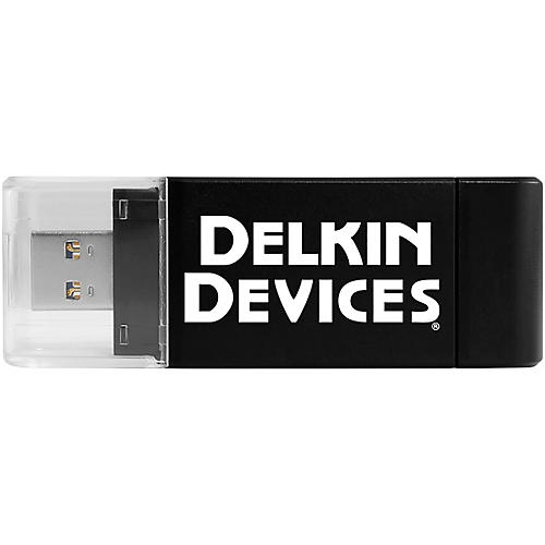 Delkin USB 3.0 Dual-Slot SD and MicroSD Travel Reader