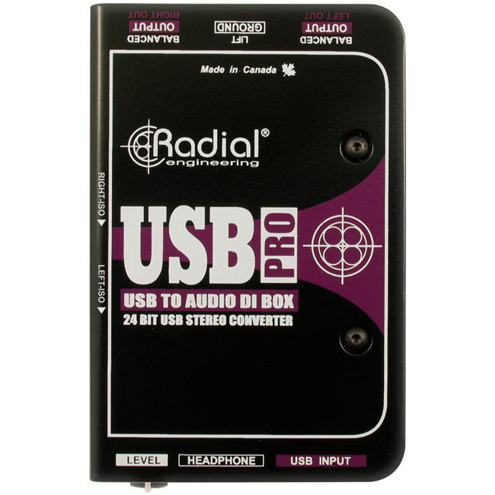 Radial Engineering USB-Pro Stereo USB Laptop DI