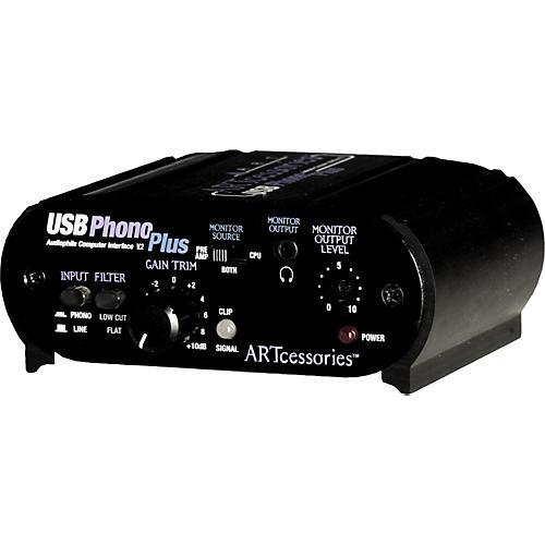ART USBPhonoPlus v2 Computer Audio Interface