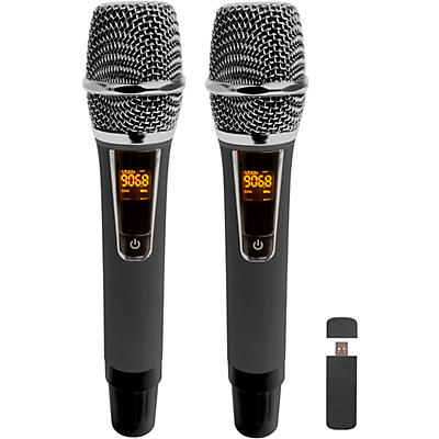 Vocopro USN-Cast-Handheld, Dual Wireless USB Handheld Microphone System