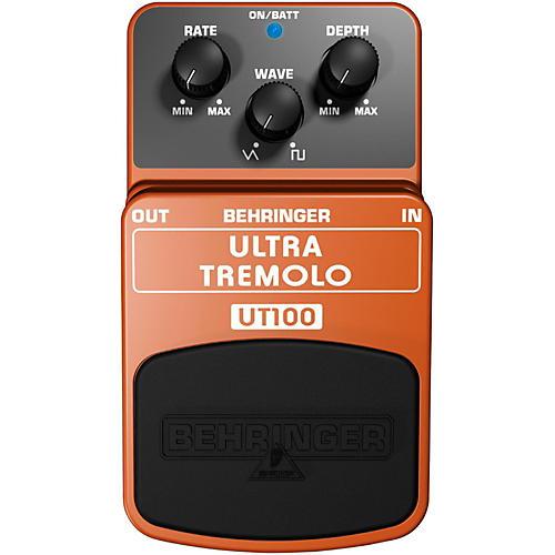 behringer ut 100 ultra tremolo guitar effects pedal musician 39 s friend. Black Bedroom Furniture Sets. Home Design Ideas