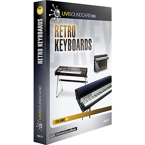 Ultimate Sound Bank UVI Soundcard Volume 5 - Retro Keyboards
