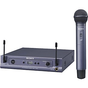 sony uwps2 series uhf wireless handheld system musician 39 s friend. Black Bedroom Furniture Sets. Home Design Ideas
