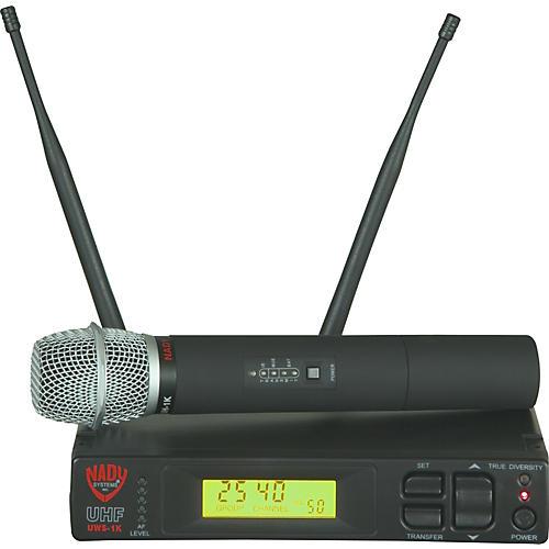 Nady UWS-1K HT Wireless Handheld Microphone System