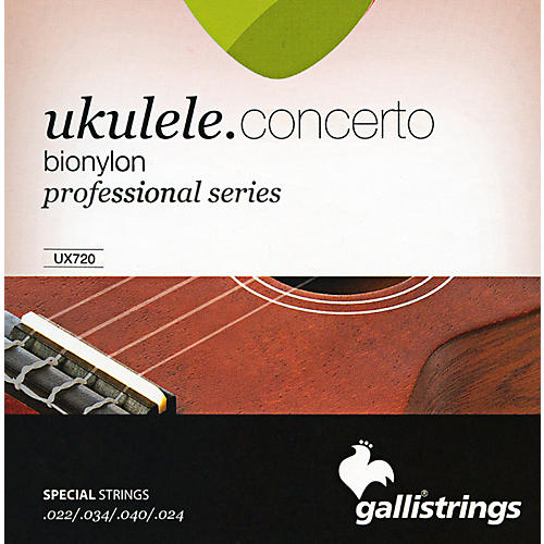 Galli Strings UX720 BIONYLON Concerto UKULELE Strings