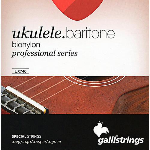 Galli Strings UX740 BIONYLON Baritone UKULELE Strings