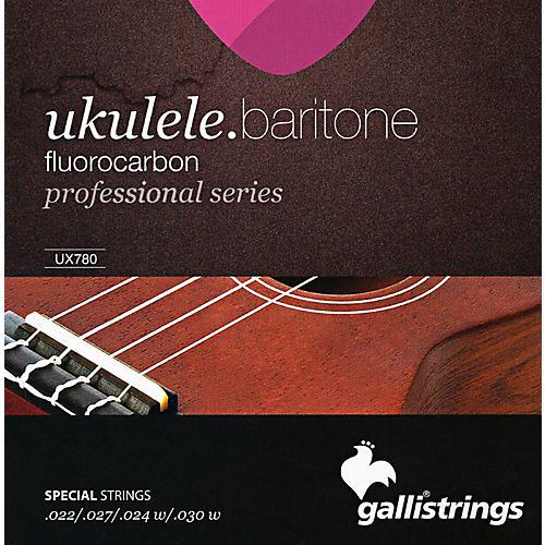 Galli Strings UX780 FLUOROCARBON Baritone UKULELE Strings