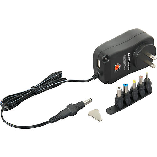 Livewire UXS Universal Multi-Voltage Power Supply with USB Port