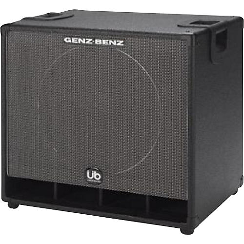 Genz Benz Uber Bass GB115T-UB 1x15 Bass Speaker Cabinet