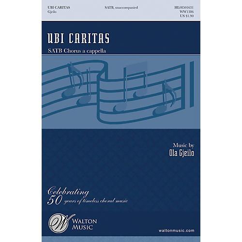 Walton Music Ubi Caritas SATB