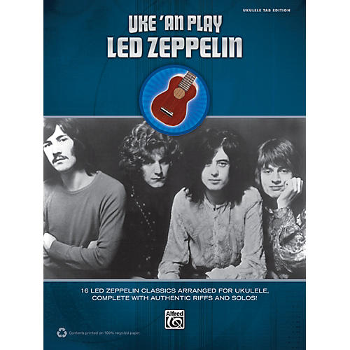 Alfred Uke 'An Play Led Zeppelin Book