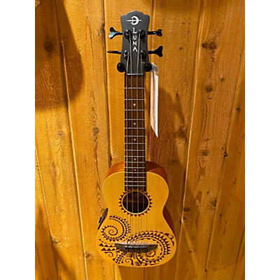 Luna Guitars Uke Bass Ukulele