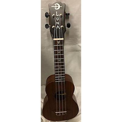 Luna Guitars Uke VM Soprano Ukulele