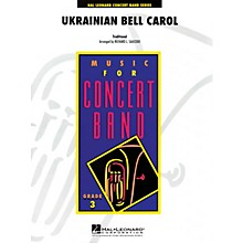 Hal Leonard Ukrainian Bell Carol - Young Concert Band Series Level 3 arranged by Richard L. Saucedo