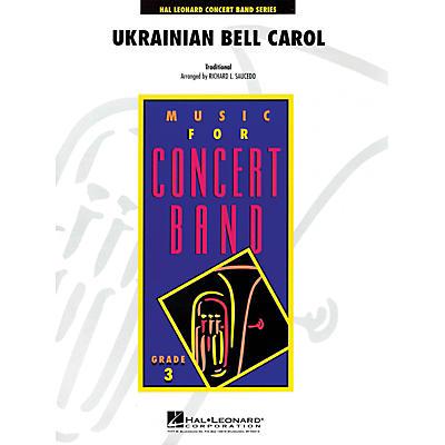 Hal Leonard Ukrainian Bell Carol - Young Concert Band Series Level 3 arranged by Richard L. Saucedo