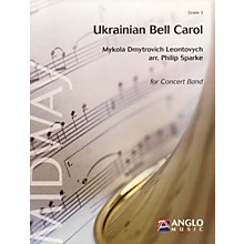 Anglo Music Press Ukrainian Bell Carol (Grade 3 - Score Only) Concert Band Level 3 Arranged by Philip Sparke