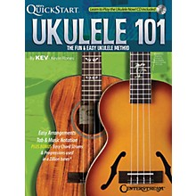 Centerstream Publishing Ukulele 101 (The Fun & Easy Ukulele Method) Fretted Series Softcover with CD Written by Kevin Rones