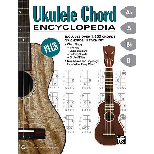 Alfred Ukulele Chord Encyclopedia Book Musicians Friend