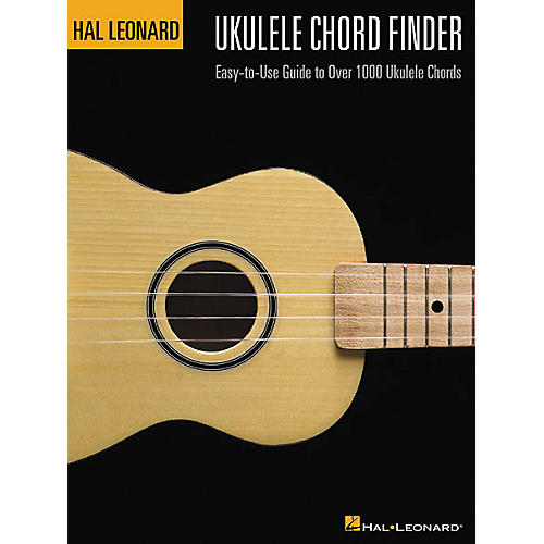 Hal Leonard Ukulele Chord Finder Book