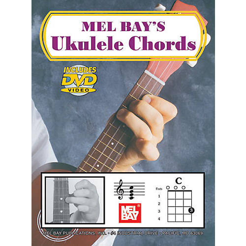 Mel Bay Ukulele Chords (Book/DVD)