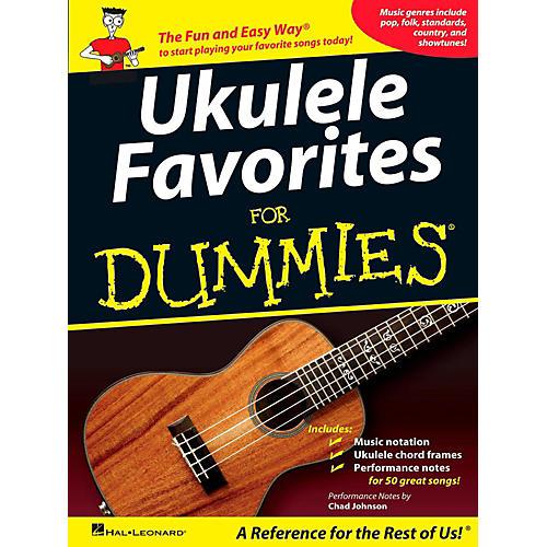 Hal Leonard Ukulele Favorites For Dummies