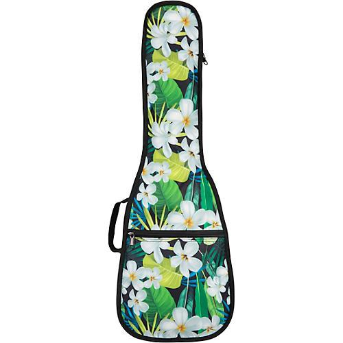 Road Runner Ukulele Gig Bag in a Box Hawaiian Floral Soprano