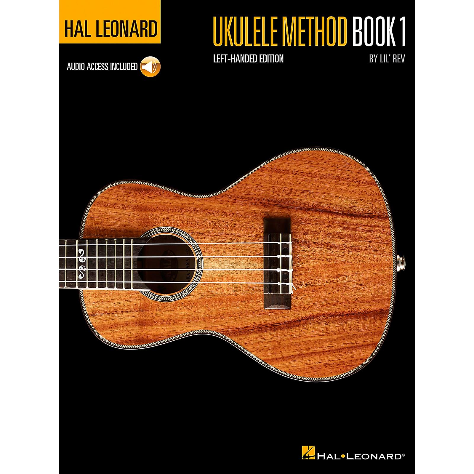Hal Leonard Ukulele Method Book 1  Left-Handed Edition Book/Online Audio