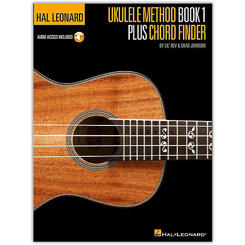 Hal Leonard Ukulele Method Book 1 Plus Chord Finder (Book/Online Audio)
