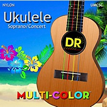 DR Strings Ukulele Multi-Color Soprano Concert Strings
