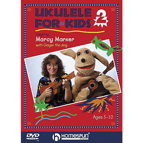 Homespun Ukulele for Kids - Lesson 2 (DVD)