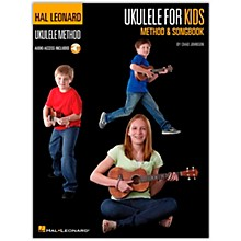 Hal Leonard Ukulele for Kids Method & Songbook Book/Audio Online