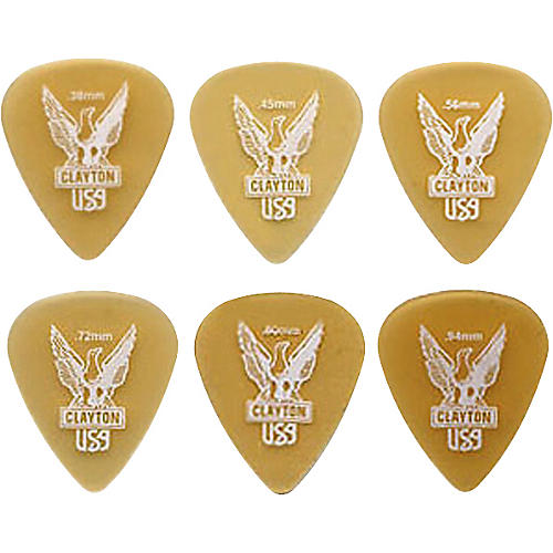 Clayton Ultem Standard Guitar Picks .72 mm 1 Dozen