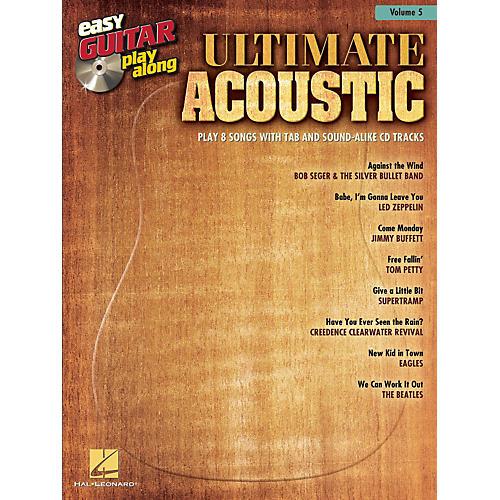 Hal Leonard Ultimate Acoustic Easy Guitar Play-Along Volume 5 Book/CD