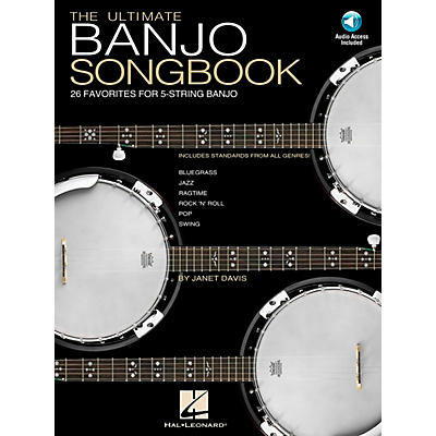 Hal Leonard Ultimate Banjo Tab Songbook with Online Audio