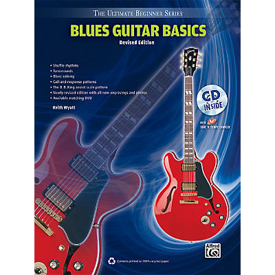 Alfred Ultimate Beginner Blues Guitar Basics (Revised Edition) Book & CD